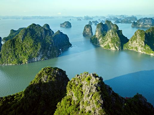 Canva Halong Bay Landscape, Vietnam